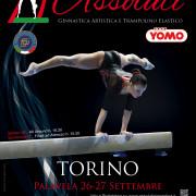 Campionati Assoluti ginnastica artistica - 26/27 Settembre Palavela Torino